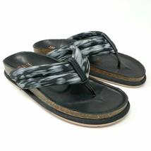 Anthropologie CHARLOTTE STONE Sophie Leather Flip Flop Sandals 6.5 - 7 $200 - $33.68