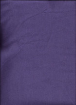 New Dark Purple Ultra Soft Flannel Solid Fabric by the Quarter Yard - $2.48