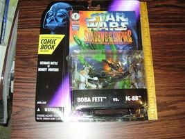 Star Wars Boba Fett vs. IG-88 action figures w/Dark Horse comic MIP - $30.00