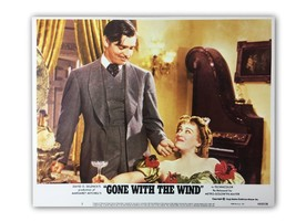 """GONE WITH THE WIND"" ORIGINAL 11X14 AUTHENTIC LOBBY CARD PHOTO POSTER 19... - $26.74"