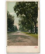 Main Street Looking North Keene New Hampshire 1907c postcard - $5.94