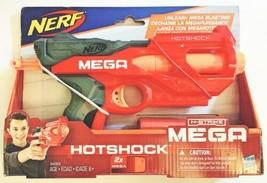Nerf N-Strike Hotshock Mega Dart Blaster w/ 2 Darts Hasbro NEW - $15.83
