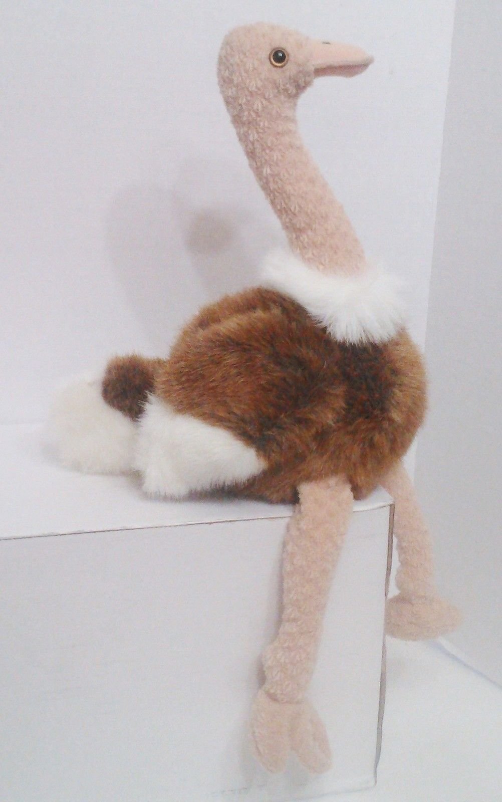 "1998 TY Beanie Buddies "" Stretch"" the Ostrich : PE Pellets : China Made {3152} image 2"