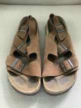 Birkenstock Betula Milano Leather Sandals Mens US 11 EUR 44 - $32.71