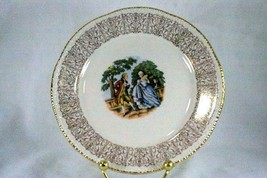 Homer Laughlin 1950's Liberty Line Courting Couple Bread Plate - $2.28