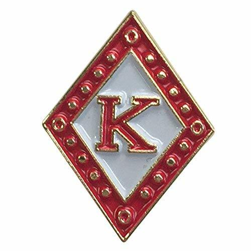 Primary image for Kappa Alpha Psi G448 Diamond Letter Pin Lapel Pin Jacket Fraternity Divine Nine