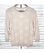 LOFT | Snowflake Jacquard Sweater - $25.00
