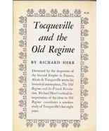 VINTAGE 1962 Tocqueville and the Old Regime Paperback Book Richard Herr - $24.74
