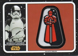 2017 Star Wars Journey To The Last Jedi Patch #MPST Executioner Stormtro... - €6,70 EUR