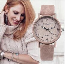 Retro Design Women Watches Leather Band Quartz Wrist Watch Top Brand Lux... - $12.30+