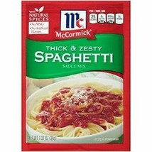 9X McCormick Thick And Zesty Spaghetti Sauce Mix 1.37oz Each Individual Packets - $48.32