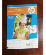 """HP Q1989A Premium Glossy Gloss 4 X 6"""" Photo Picture Paper 60 Ct Sheets - $6.89"""