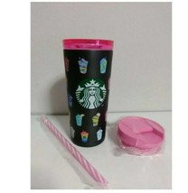 Starbucks Stainless steel tumbler Frappuccino black 2020 Limited Japan Rare - $74.09