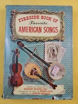 Fireside Book Of Favorite American Songs - 1952 Simon  & Schuster - Pian... - $17.50