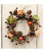 """Pumpkin Patch Candle Ring 3.5"""" Inner 8"""" W Harvest Autumn Fall Halloween ... - $28.17"""
