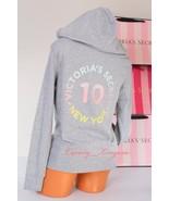 VICTORIA'S SECRET ~VS NY Logo~ Zip-Up Hoodie Jacket Rope Hooded, Sz - S,... - $69.50