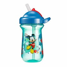 The First Years Baby Mickey Mouse Flip Top Straw Cup, 10 oz, 1 Pack
