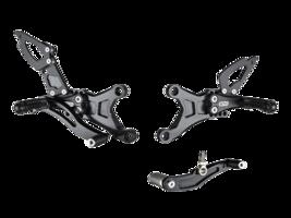 Bonamici Aluminum Adjustable 07-08 Yamaha R1 Rearsets Rear sets - $459.99