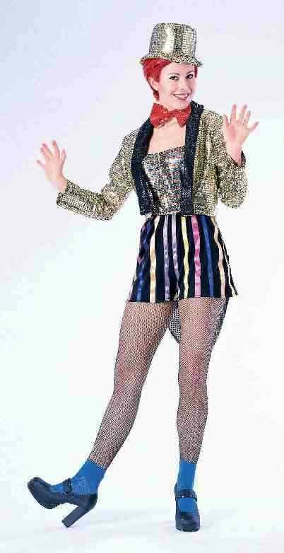 Forum Nouveautés Rocky Horror Picture Show Columbia Déguisement Halloween 55031