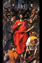 Disrobing of Christ by El Greco #3 - Art Print - $19.99+