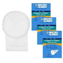 DVC Micro-Lined Paper Replacement Bags Fit Tristar and Compact Cleaning Systems  - $30.59