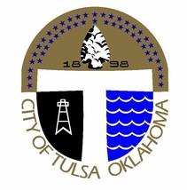 Seal of Tulsa Oklahoma Sticker / Decal R687 - $1.45 - $9.45