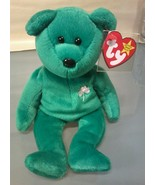 TY Beanie Baby Erin The Bear Retired With Errors 1997 - $69.29