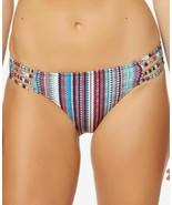 Jessica Simpson Strappy Bottoms Women's Swimsuit (Striped, S) - $32.90