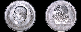 1952 Mexican 5 Peso World Silver Coin - Mexico - $42.99