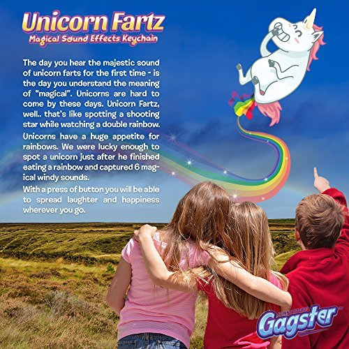 Unicorn Fartz Magical Farts Noise Maker | Hilarious Fart Machine With 6 Sounds |