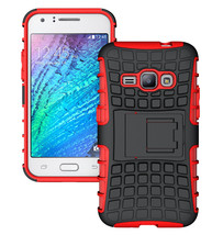 Shockproof Dual Layer Hybrid Stand Cover Case For Samsung Galaxy J1 2016... - $4.99