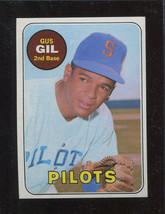 1969 Topps #651 Gus Gil EXMT+ Pilots *25887* - $3.59