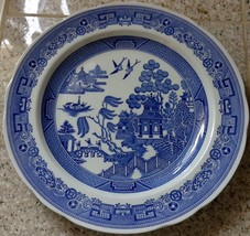 """SPODE BLUE ROOM SERIES """"WILLOW"""" DECORATIVE 11"""" PLATE - $23.74"""