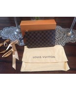 US SELLER!! AUTHENTIC and NEW IN BOX Louis Vuitton Damier Ebene Neverful... - $420.75