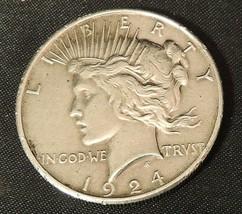 1924 Peace Dollar AA20-7408 Vintage  - $69.95