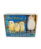 Owl Babies Book and Toy Gift Set [Board book] Waddell, Martin and Benson... - $15.18