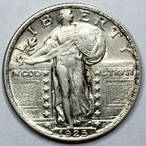 1925 Standing Liberty Silver Quarter Coin Lot 519-77