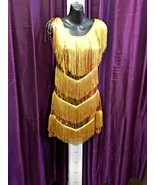 70's / 80's Gold Fringed Tina Turner Costume  - $46.23