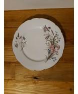 """Vintage Limoges CH Field Haviland Floral salad plate 8.5""""/Gold scalloped... - $18.70"""