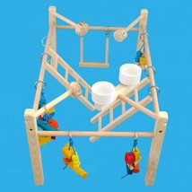 parrot cage top play gym,bird play stand,bird display for multiple birds... - £46.82 GBP