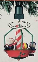 NOMA Motion Ornament ELF MERRY Go ROUND New Box 1989 - $15.99