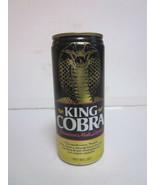 VINTAGE PULL TOP BEER CAN KING COBRA PREMIUM MALT LIQUOR BEER 16 OZ CAN - $9.99
