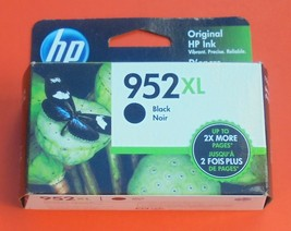 Genuine HP 952XL Black Ink Cartridge 2022 New 952 XL - $30.84