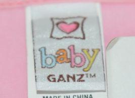 Baby Ganz BG3191 OohLaLa Bib Pink Cupcake Designs 0 Plus 100 Percent Cotton image 4