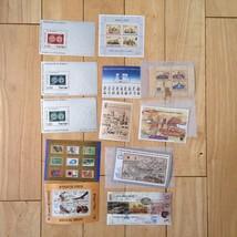 G35 LOT Israel Stamps loose souvenir Holy Land Exhibition Biblical Birds... - $11.63