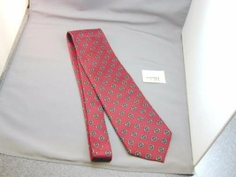 Ferrell Reed For Nordstrom Men's Silk Neck Tie Red Blue Rust Cream NWOT T51 - $49.99