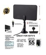 Indoor Digital Free TV Fox Antenna DVB-T /T2 HD 1080P HDTV UHF VHF Analo... - $19.99