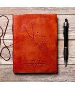 Taurus Zodiac Handmade Leather Journal - $27.00