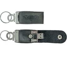 Harley-Davidson® 8GB USB w/ Leather Case Keychain KY01830 - $15.79