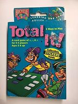 Vintage 1999 Bicycle Total It! Card Game with Collectible Stickers Learning and  - $39.99
